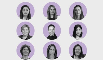 The nine new women cabinet ministers.