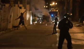 Rioting in Acre in May.