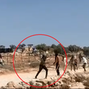 Video of the incident in South Hebron Hills, in the West Bank, on Saturday.