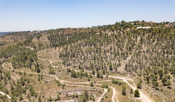Rekhes Lavan nature reserve in Jerusalem on which thousands of housing units are expected to be built, last year