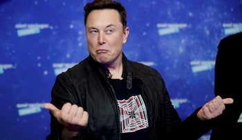 SpaceX owner and Tesla CEO Elon Musk. The dynamic of cryptocurrencies today is that the rich get richer, but 'we want to fix that,' says Prof. Shapira