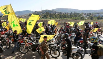 A pro-Hezbollah rally in southern Lebanon, earlier this year.
