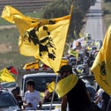 A pro-Hezbollah rally in southern Lebanon, in May.