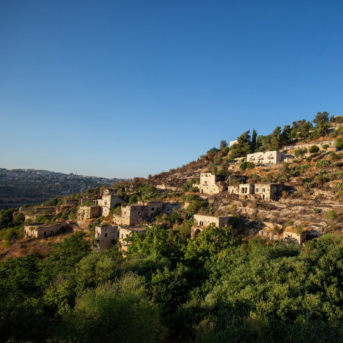 Lifta, last month. Was one of hundreds of villages left abandoned after the Israel's War of Independence in 1948.